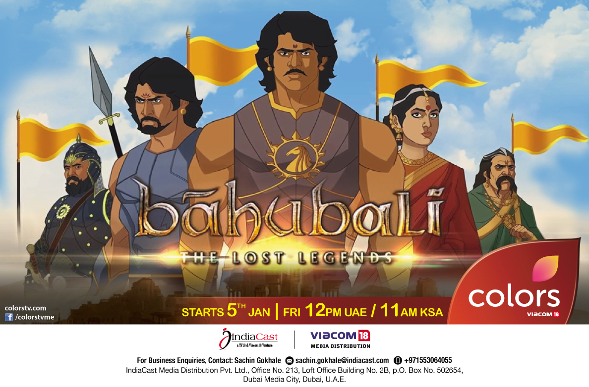 colors tv me presents the television premiere of 'bahubali: the lost